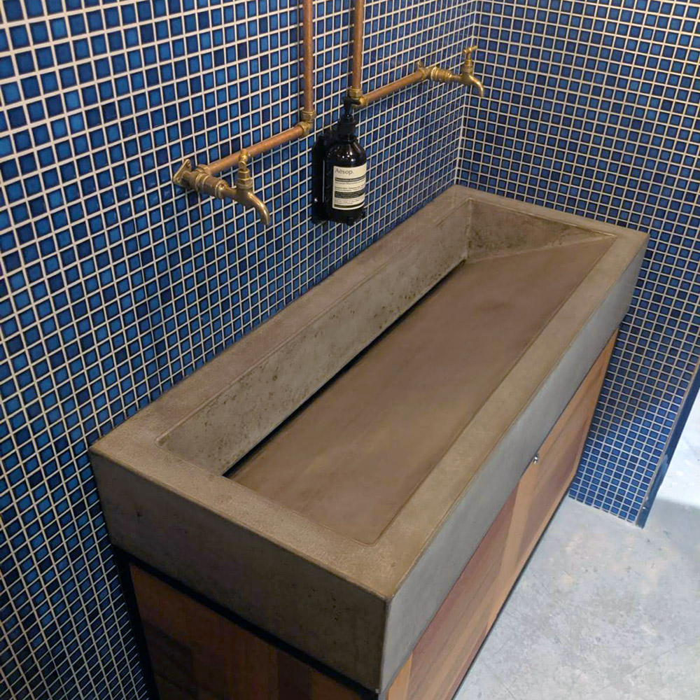 A cool looking sink!